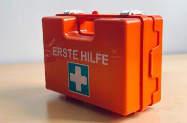 Wyposażenie apteczki pierwszej pomocy